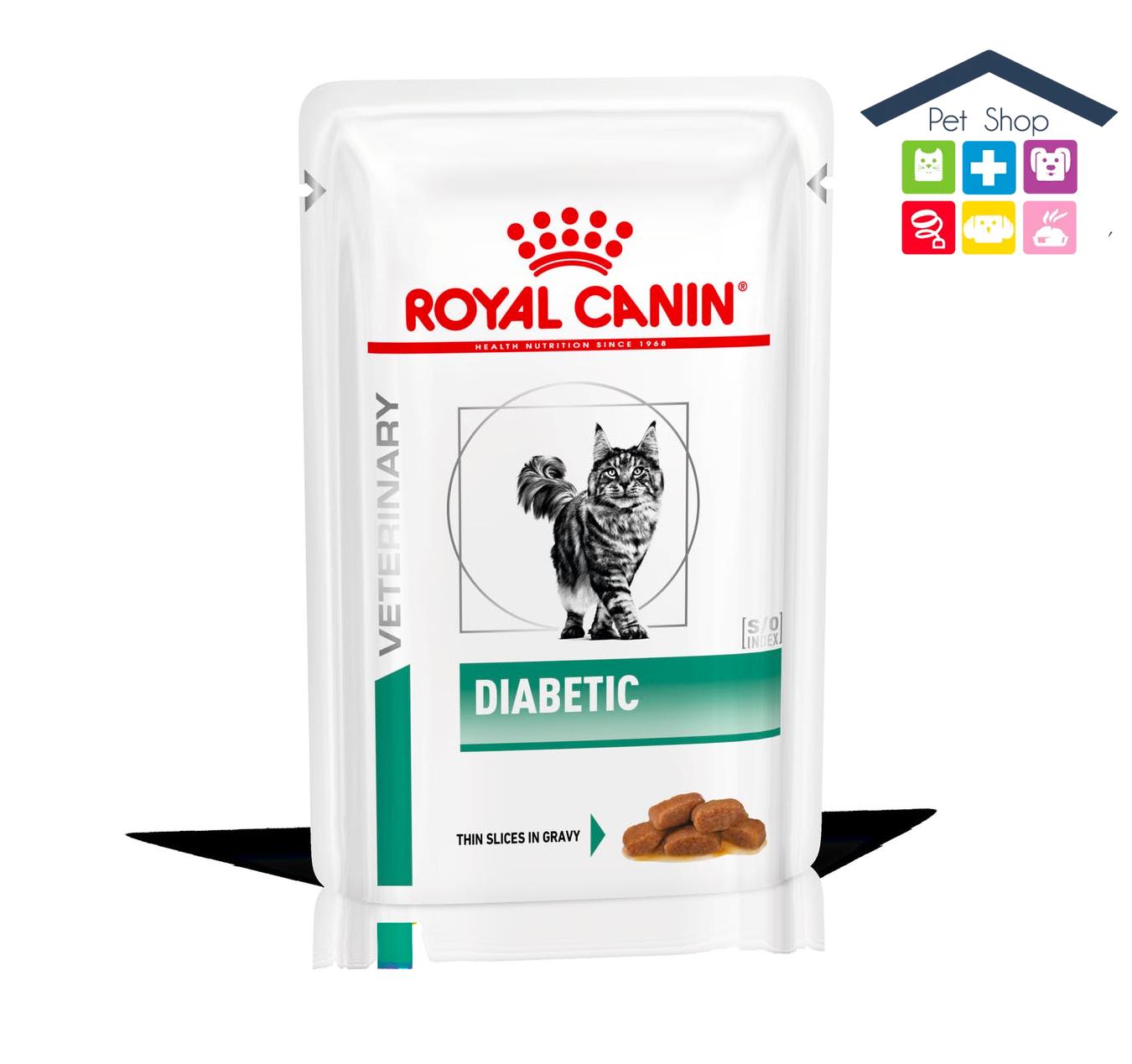 Royal Canin Gatto   Linea VET   Diabetic - 12x100gr (bustina multipack)