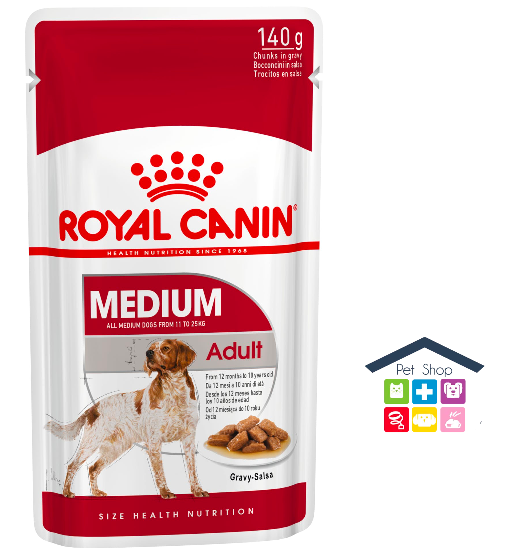 Royal Canin Cane | Linea Size HN | MEDIUM Adult / 140g Bustina