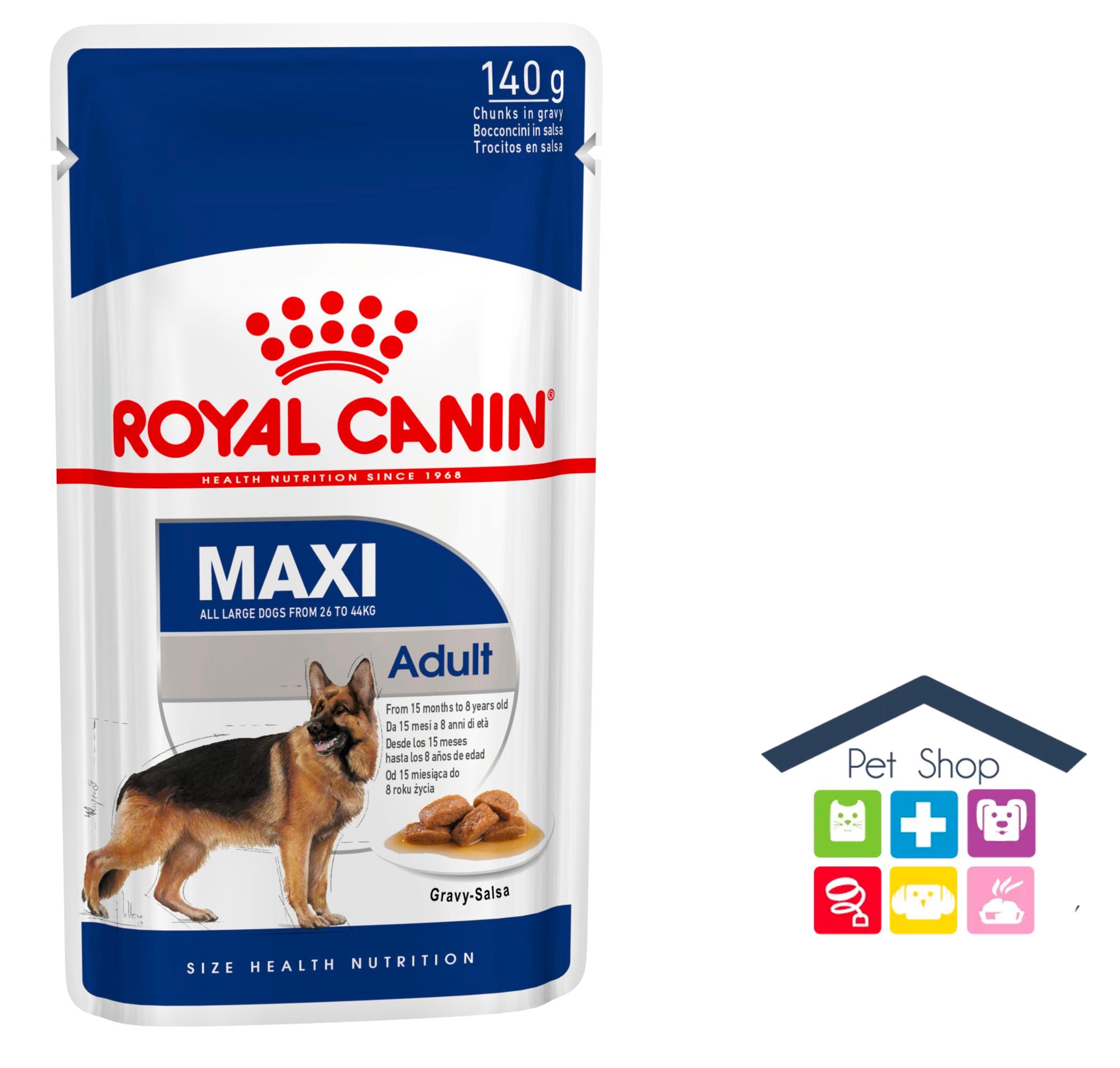 Royal Canin Cane | Linea Size HN | MAXI Adult / 140g Bustina