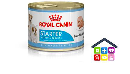 Royal Canin Cane | Linea Size Healt Nutrition | Mousse / Starter Mother & Babydog - 195gr (lattina)