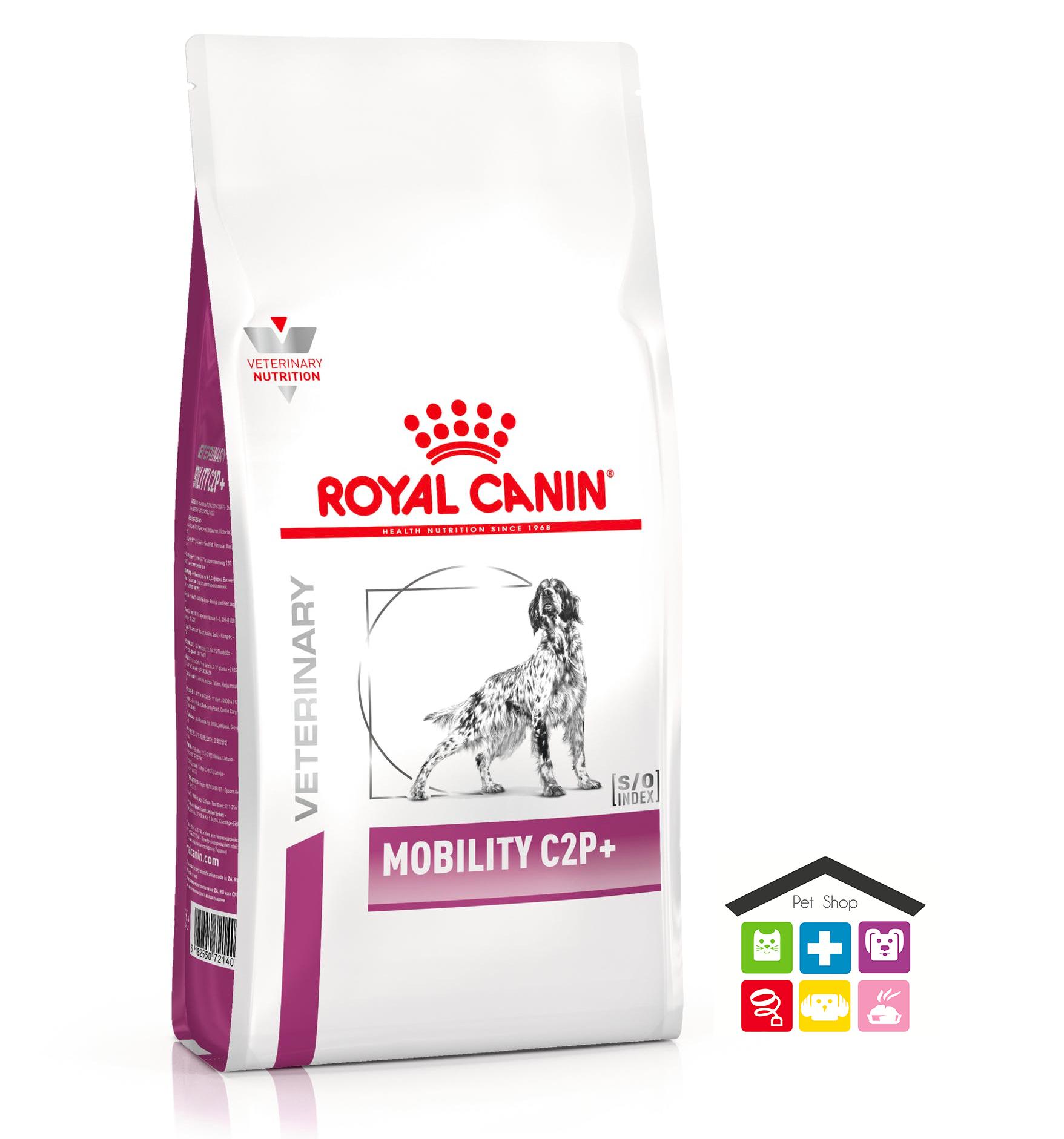 Royal Canin Cane   Linea Vet   MOBILITY C2P+ - 2/12 KG