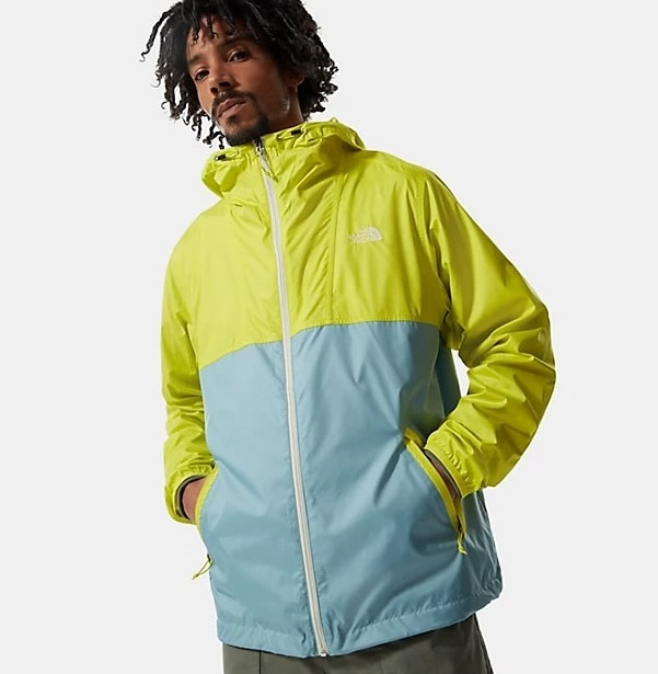 Giacca The North Face Cyclone Spring Green-Tourmaline Blue