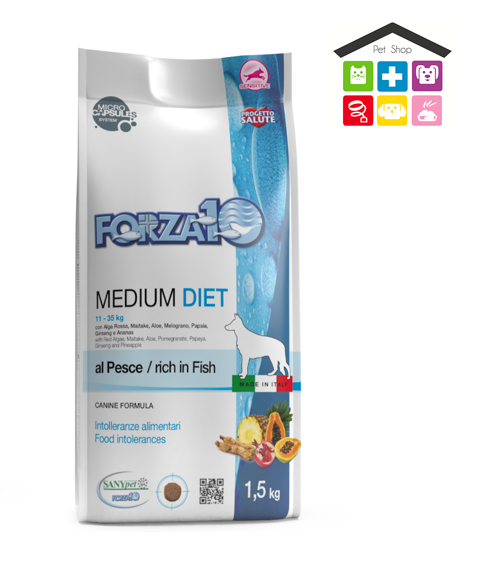 Forza 10 DIET 12 KG | MEDIUM - Gusto pesce