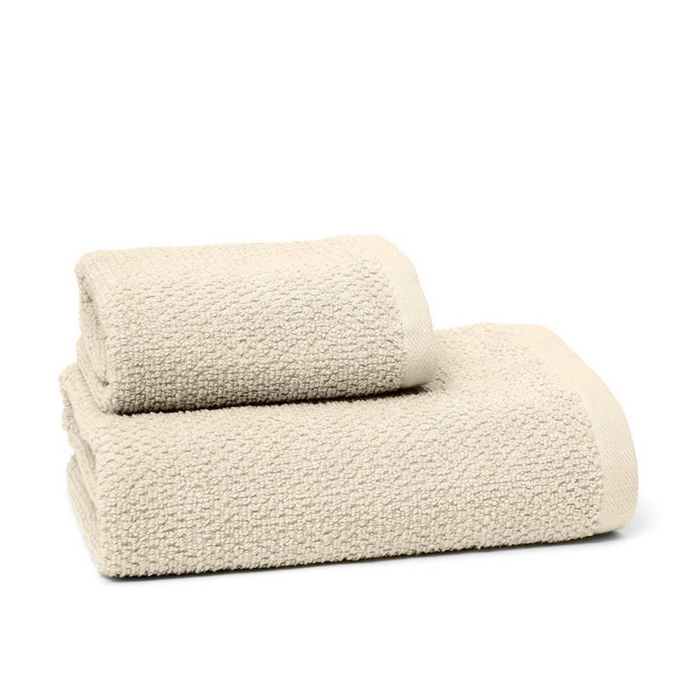 Asciugamani chicco di riso panna