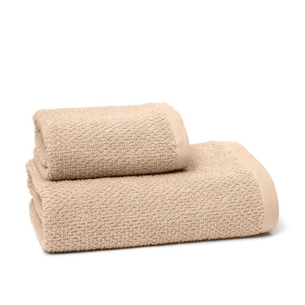 Asciugamani chicco di riso tortora