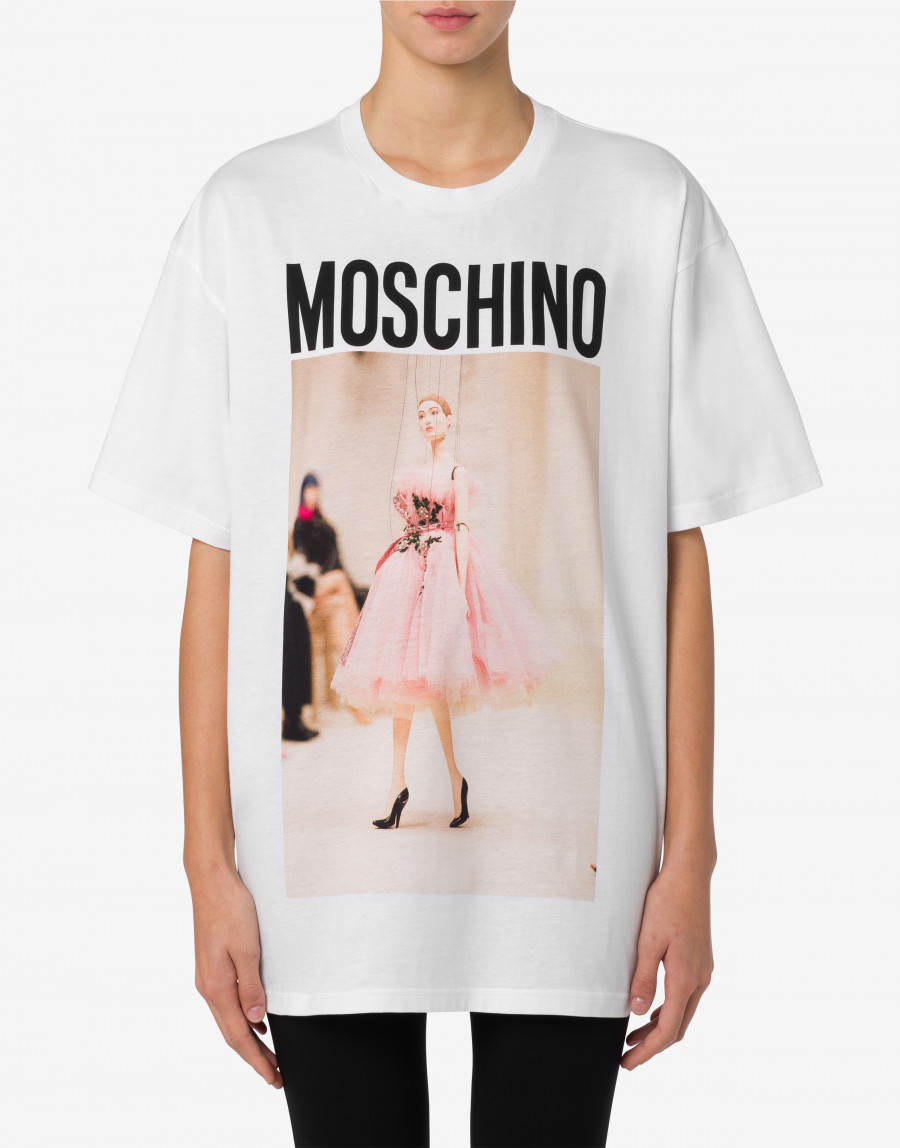 T-shirt no strings attached moschino couture