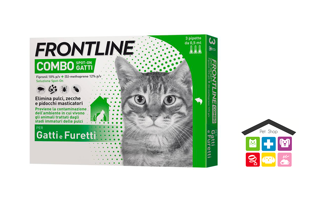 Frontline Combo Spot-on per Gatti 3 Fialette