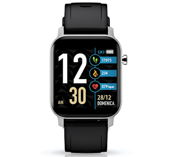 TECHMADE Smartwatch Techwatch X Collection - Silver