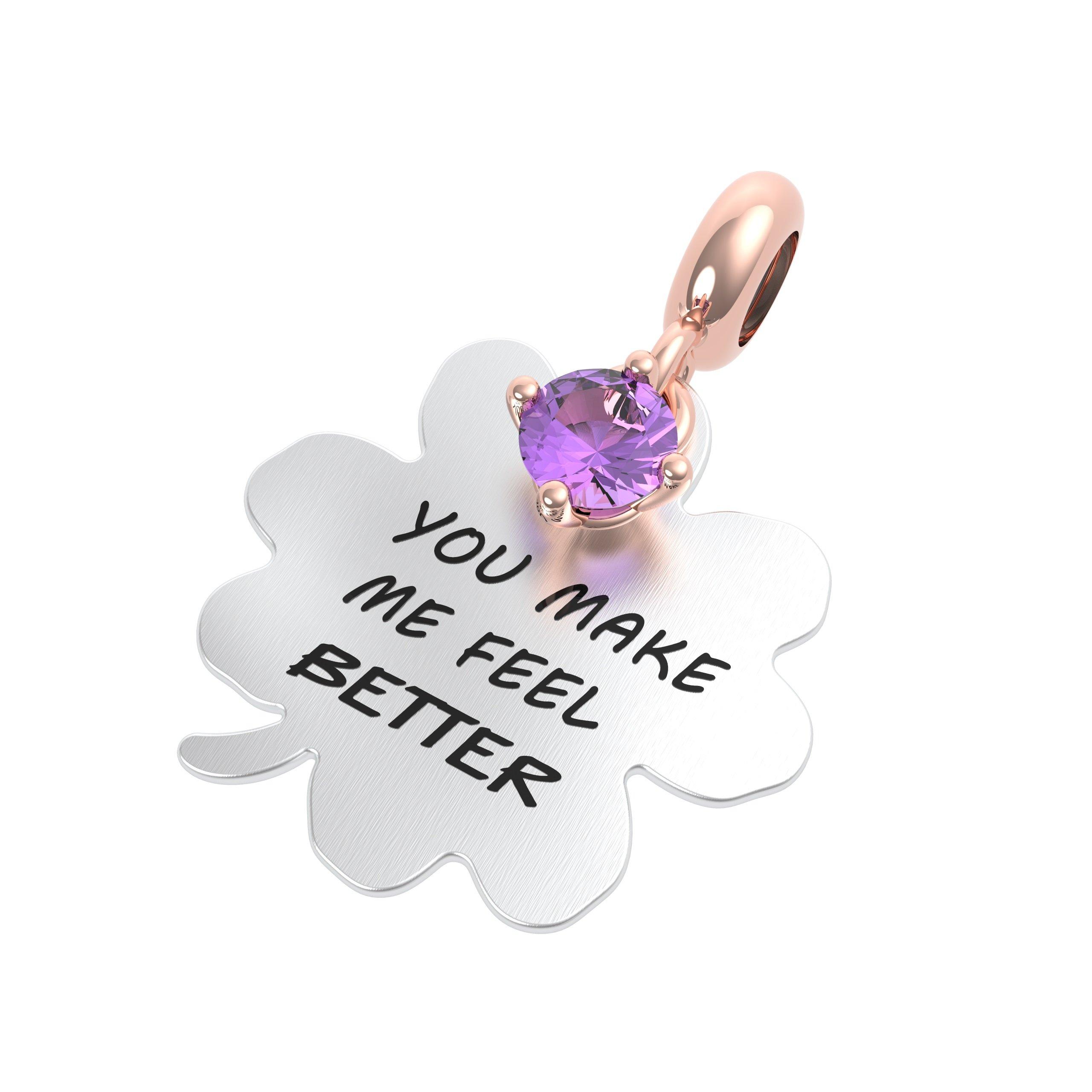 You make me feel better