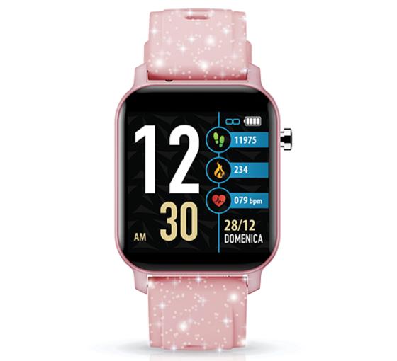TECHMADE Smartwatch Techwatch X Collection - Glitter Pink