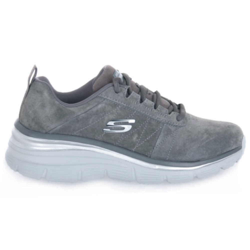 Sneakers Donna Fashion Fit Skechers 149472 CHAR  -9