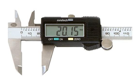 Calibro digitale centesimale inox mm 150 - Big Display - Seb 1367.BIG.150