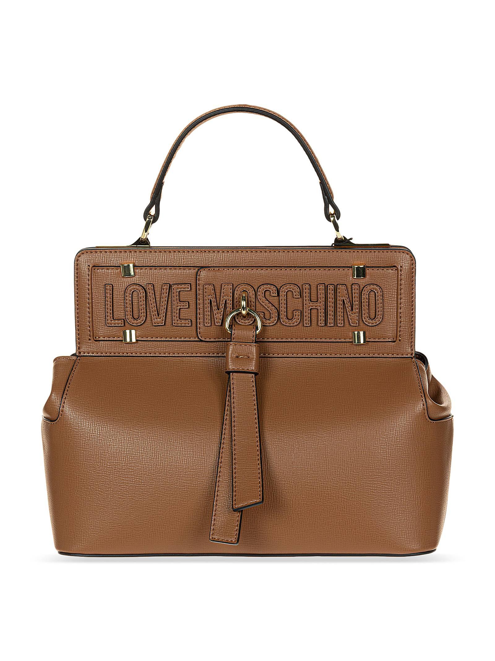 Love Moschino Borsa a Mano Donna Cuoio
