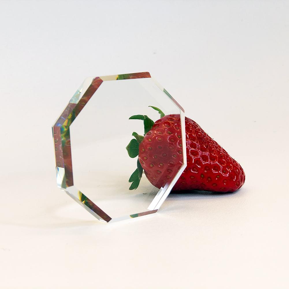 Cristal para pegamento para la extensión de pestañas