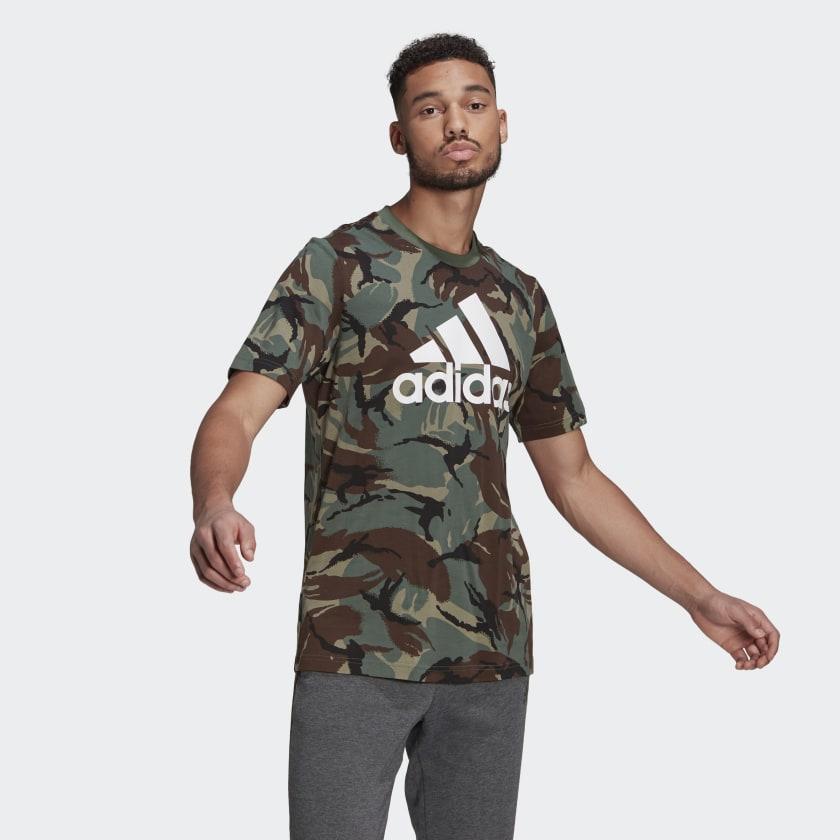 T-shirt Adidas - Camouflage Aop Tee Verher GK9808