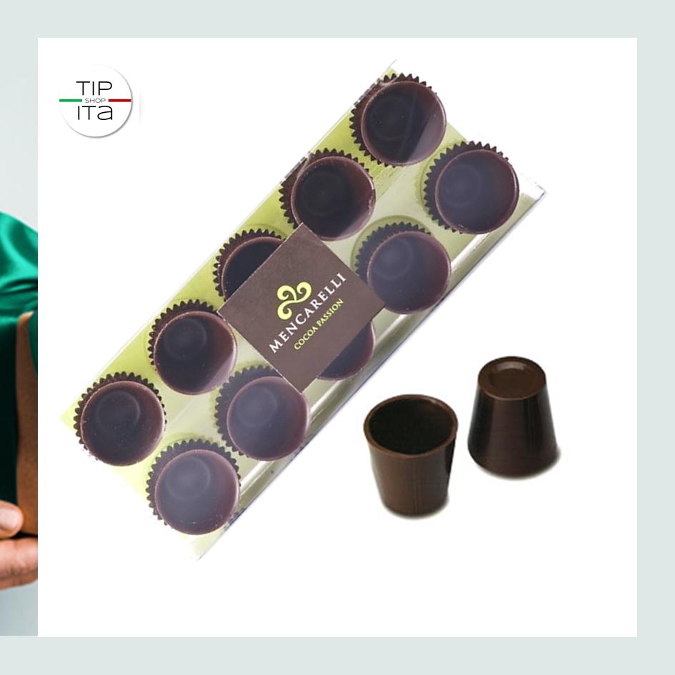 Bicchierini di Cioccolato Fondente Finissimo - 80 gr