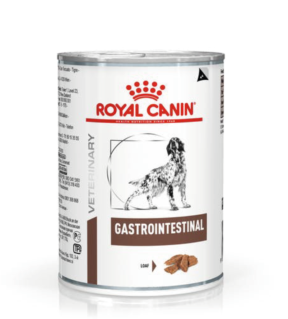 Royal Canin - Veterinary Diet Canine - Gastrointestinal - 400g x 12 lattine