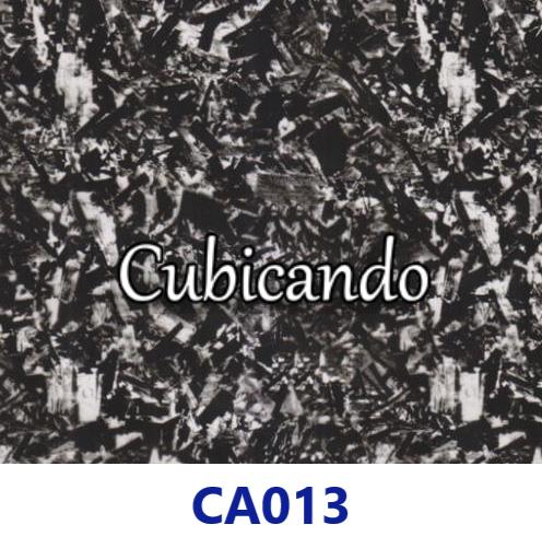 Pellicola per cubicatura effetto Carbonio Forgiato