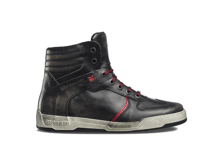 Sneakers in pelle pieno fiore con protezioni interne, impermeabili e ...