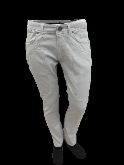 Jeans in Cotone Piquet colore Grigio | marca JECKERSON