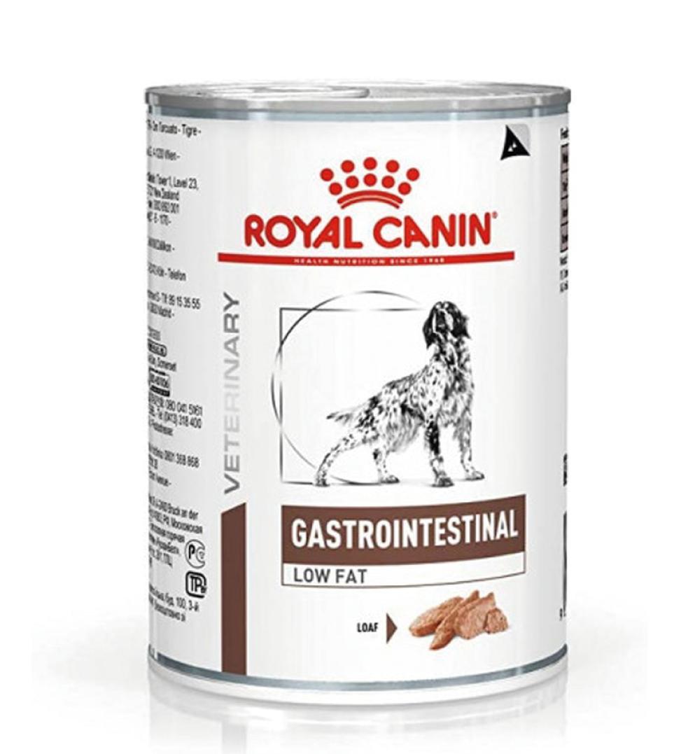 Royal Canin - Veterinary Diet Canine - Gastrointestinal Low Fat - 410g x 12 lattine