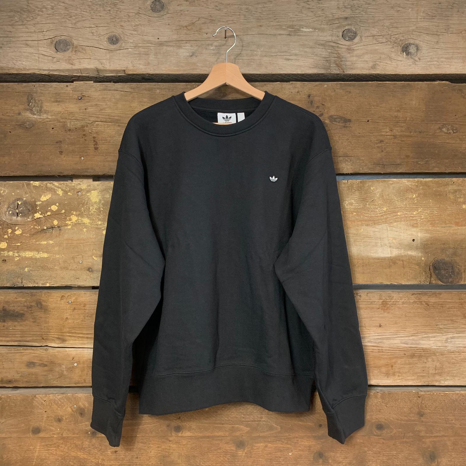 Felpa Adidas Premium Hoodie a Girocollo Nero