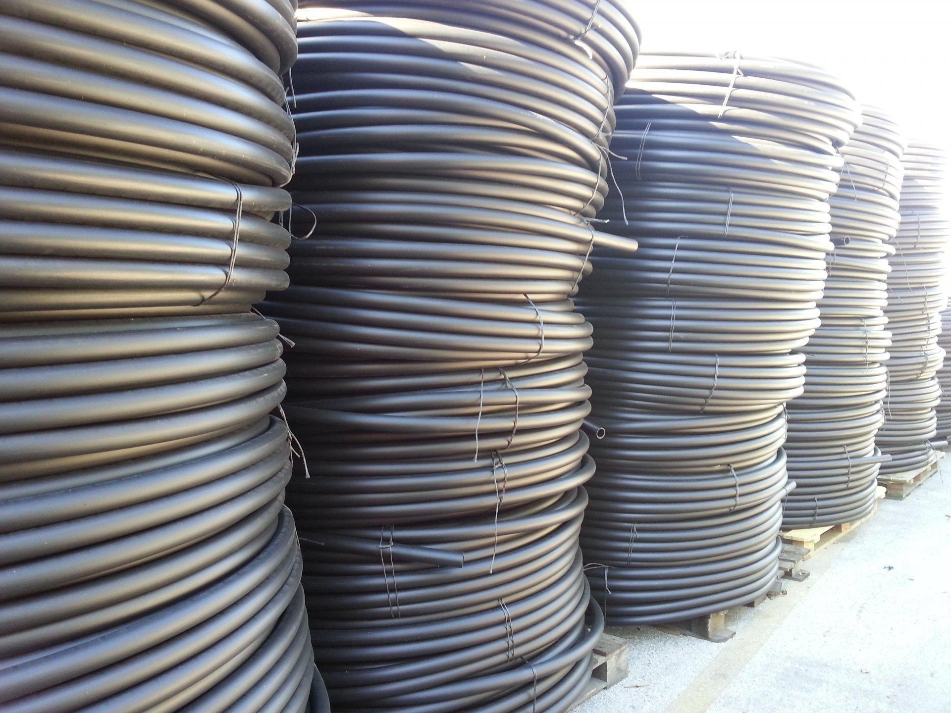 Tubo polietilene per irrigazione pn 6 d.25 mt 200