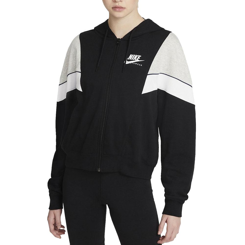 Nike Felpa Sportswear con Cappuccio da Donna