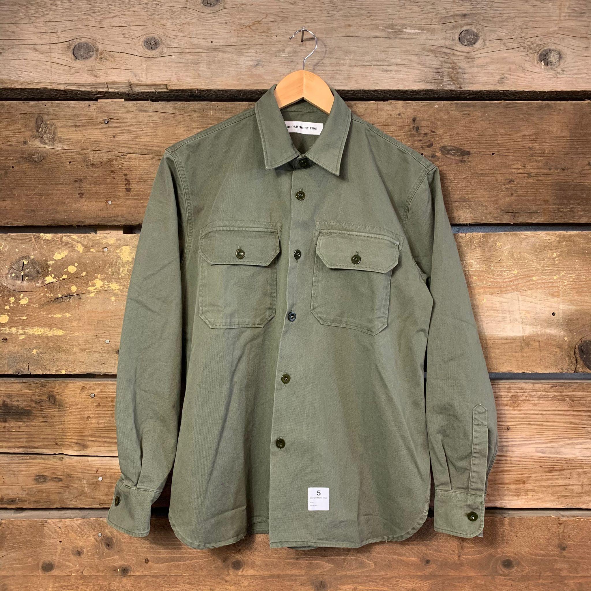 Camicia Giacca Department 5 Uomo Rams Verde Militare