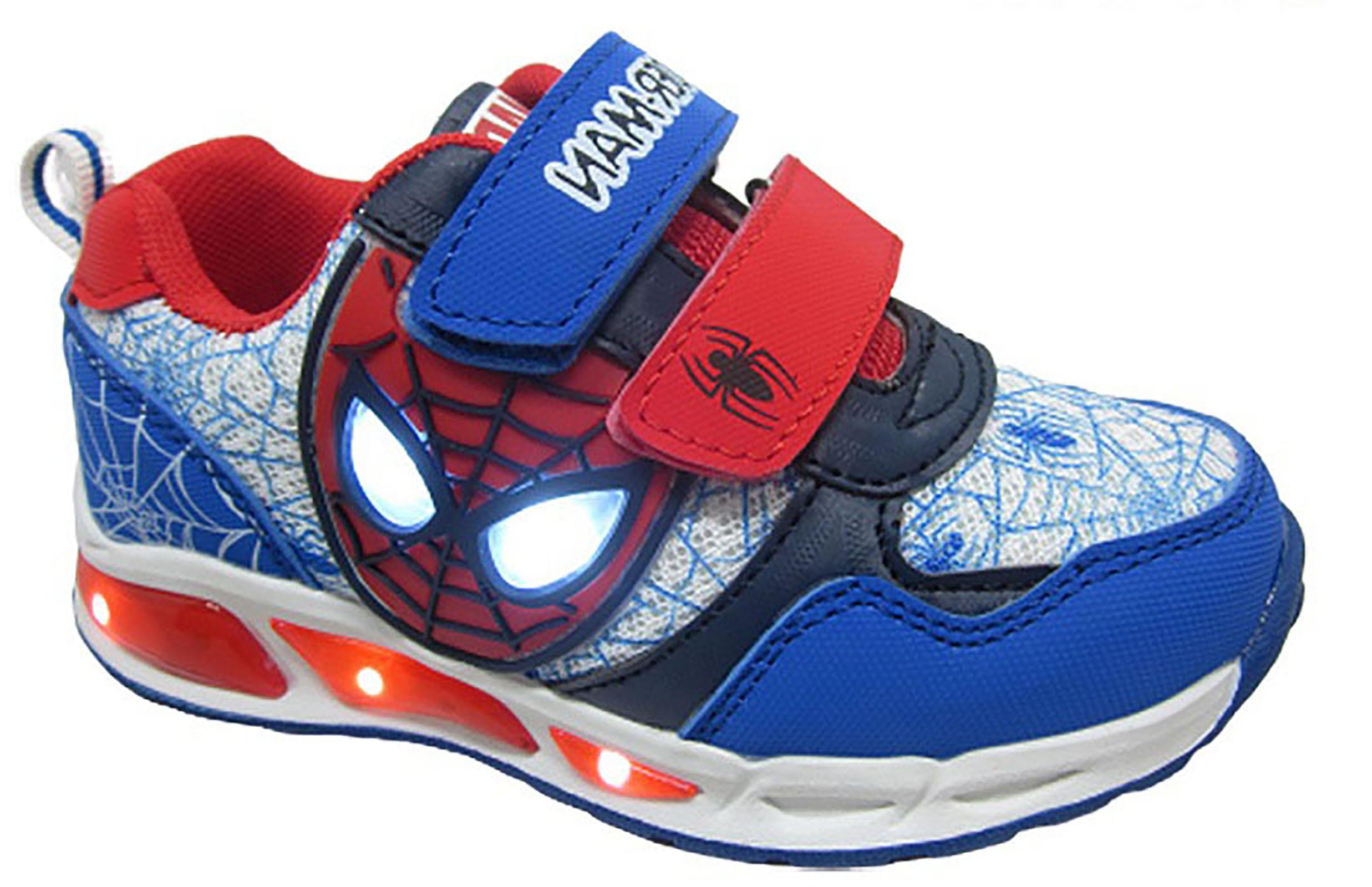 Scarpe Bambino con luci Spiderman Mis. dal 24 al 34