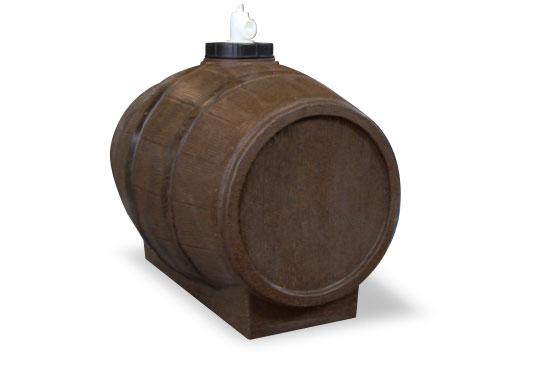 Botte in politielene per vino-mosto lt 200