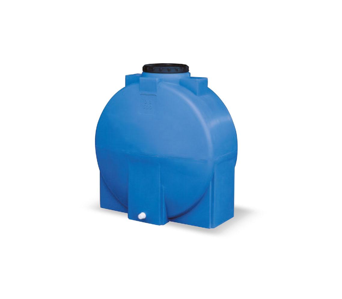 Serbatoio in polietilene LT 500 DISCO colore MARRONE