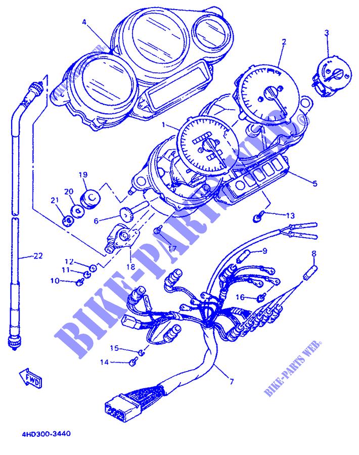 Cavo Conta KM Yamaha YZF-R-SP/XJ S/FZR