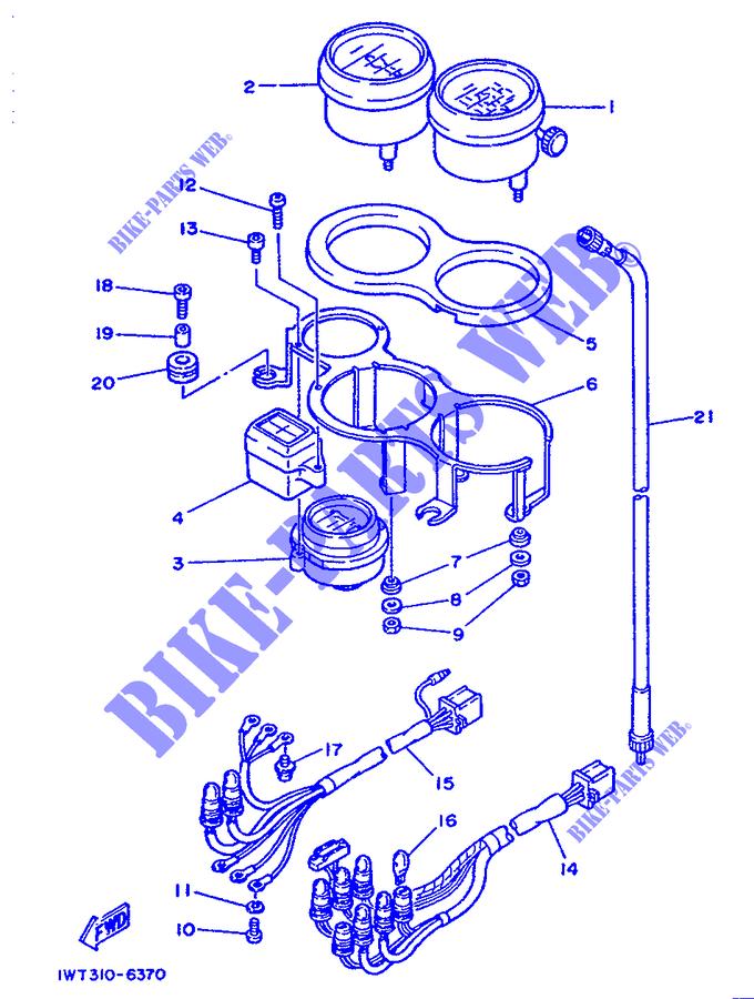 Cavo Conta KM Yamaha RD LC-LCF/FZ