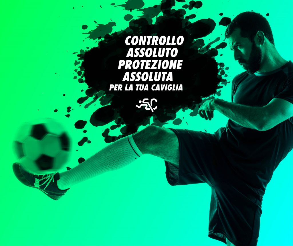 Cavigliera da calcio a Padova