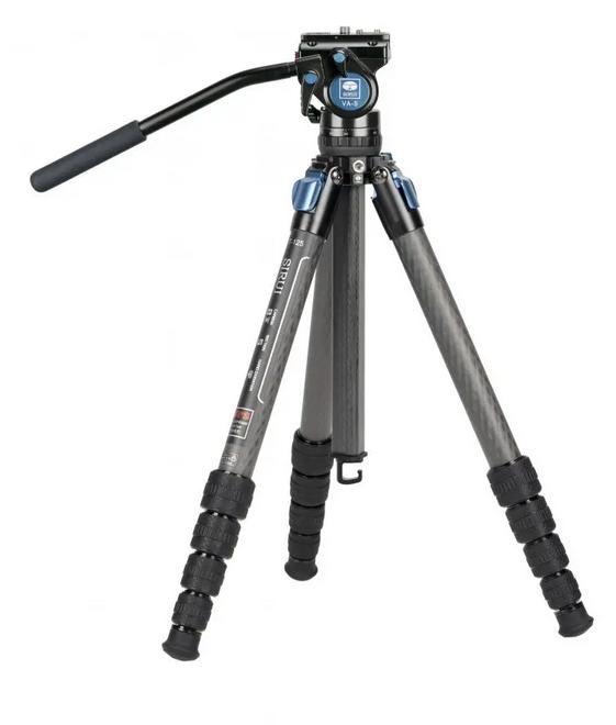 Treppiede ST-125 in Fibra di Carbonio con Testa Video VA-5