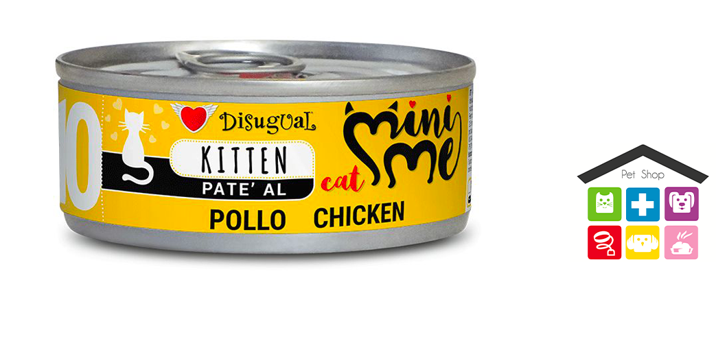 Disugual kitten mini-me pollo 0,85g