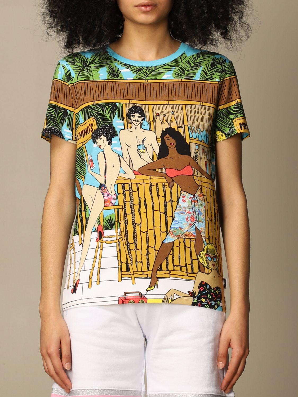 T-shirt moschino underwear con stampa