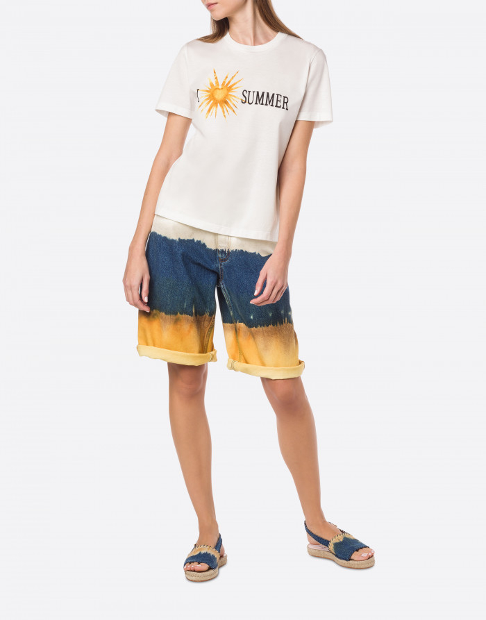 T-shirt i love summer alberta ferretti