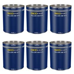 Fondo Dynacoat Filler 4:1 Vari Colori + Catalizzatore Cartone da 6 pezzi