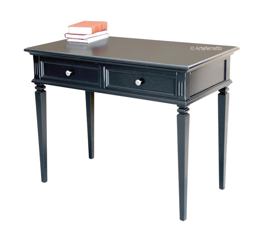 Schreibtisch - elegant schwarz
