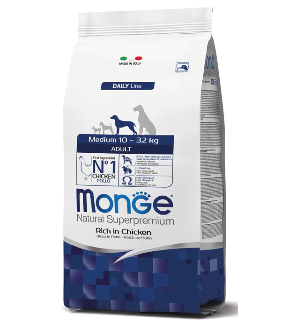 Monge - Natural Superpremium - Medium Adult - 12 kg