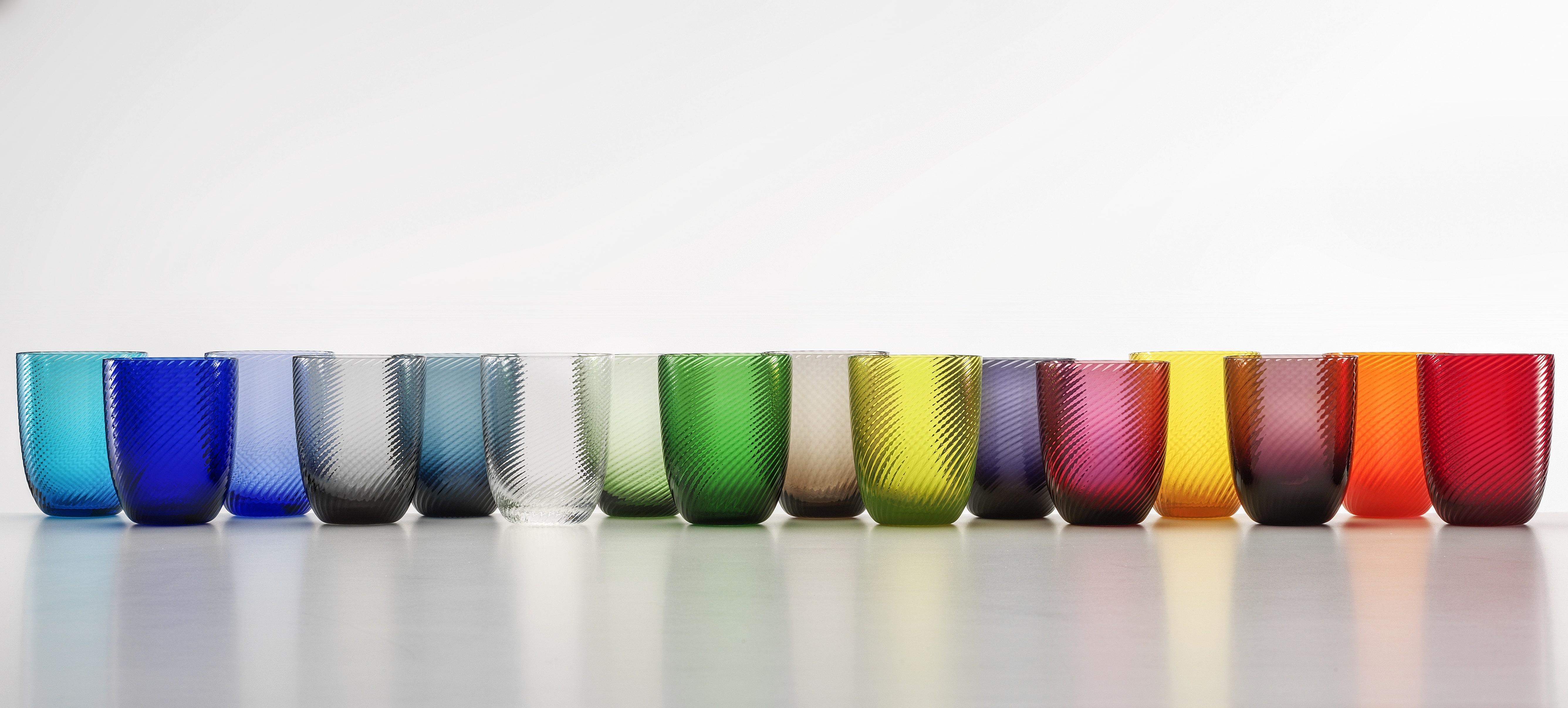 Collezione Bicchieri Idra Rigato Ritorto