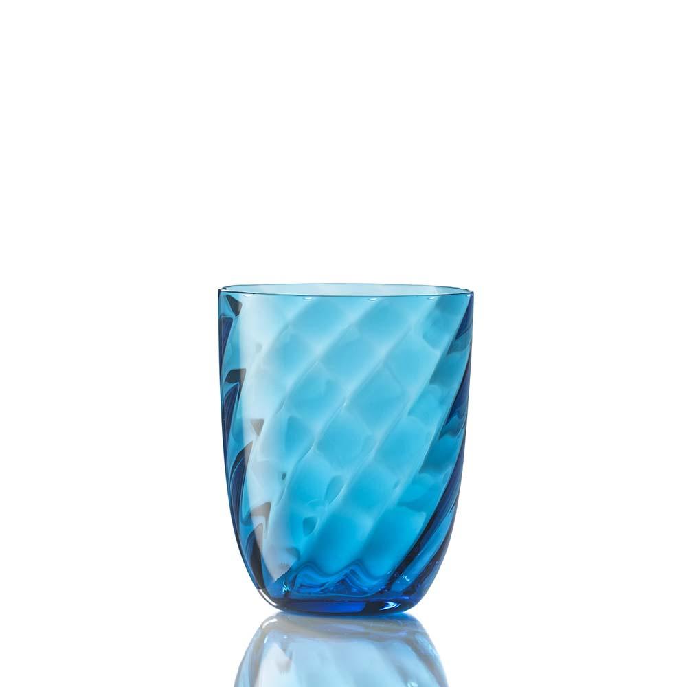 Bicchiere Ottico Torsè Turchese