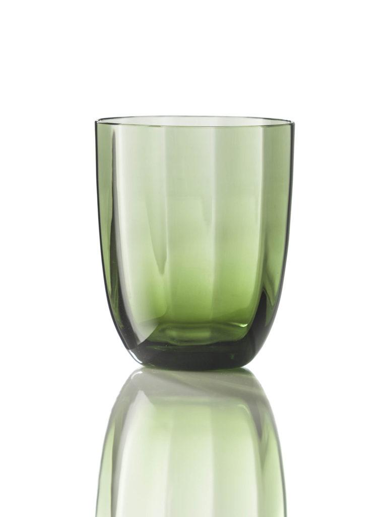 Bicchiere Idra Ottico Verde Soraya