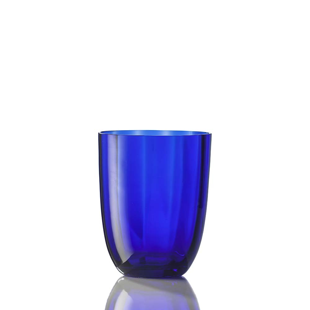 Bicchiere Idra Ottico Blu