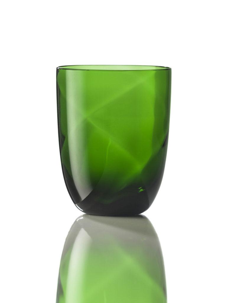 Bicchiere Idra Lente Verde Pino