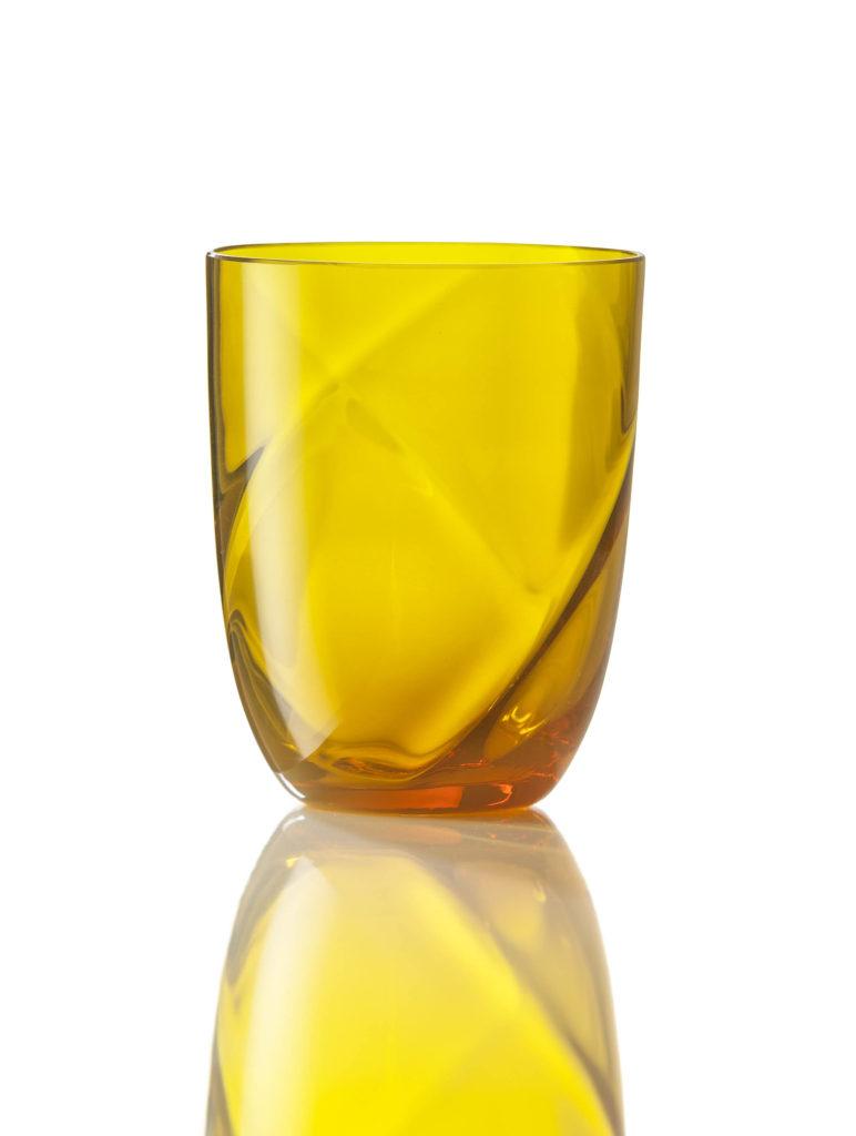 Bicchiere Idra Lente Giallo