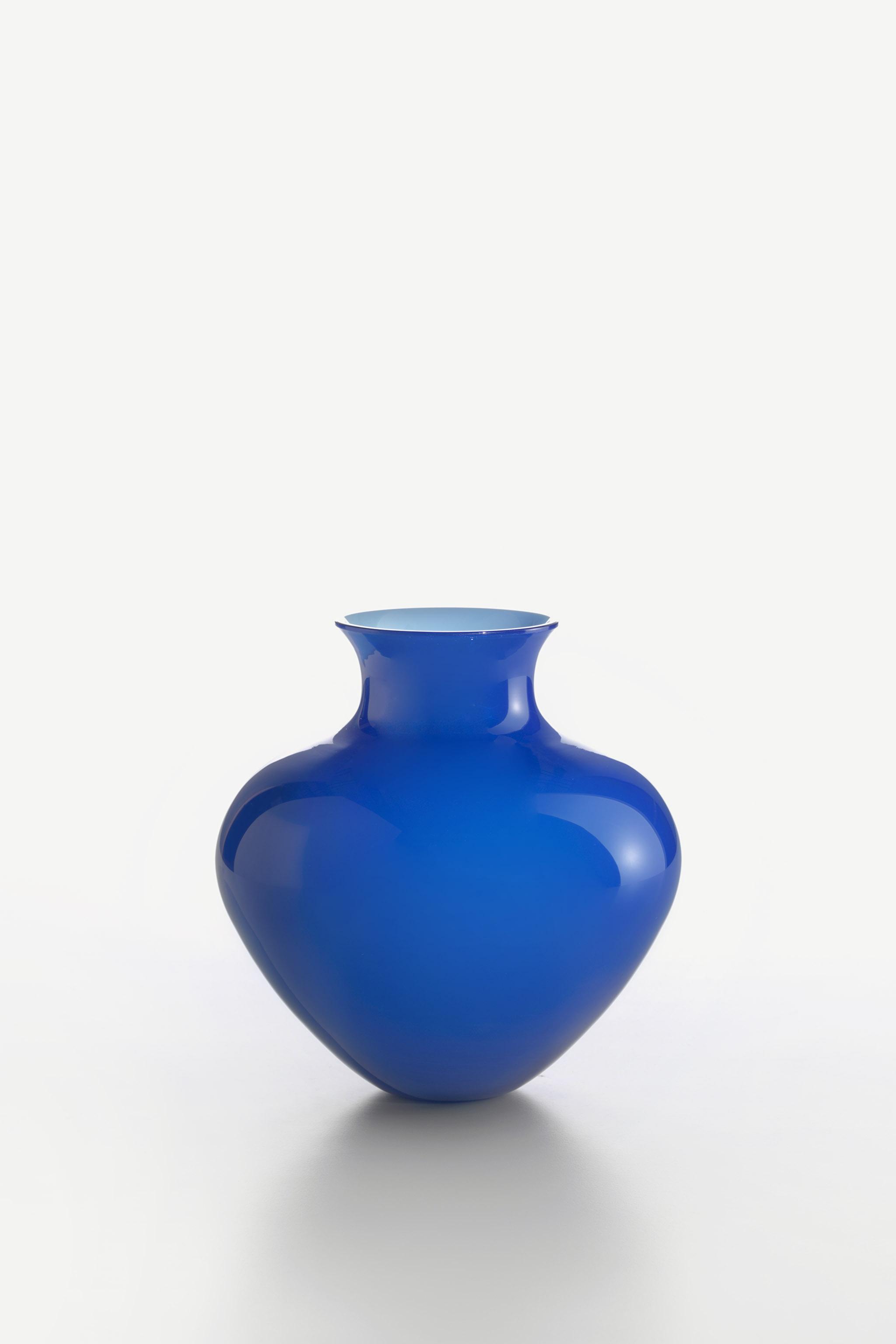 Vaso Antares Medio Blu 0040