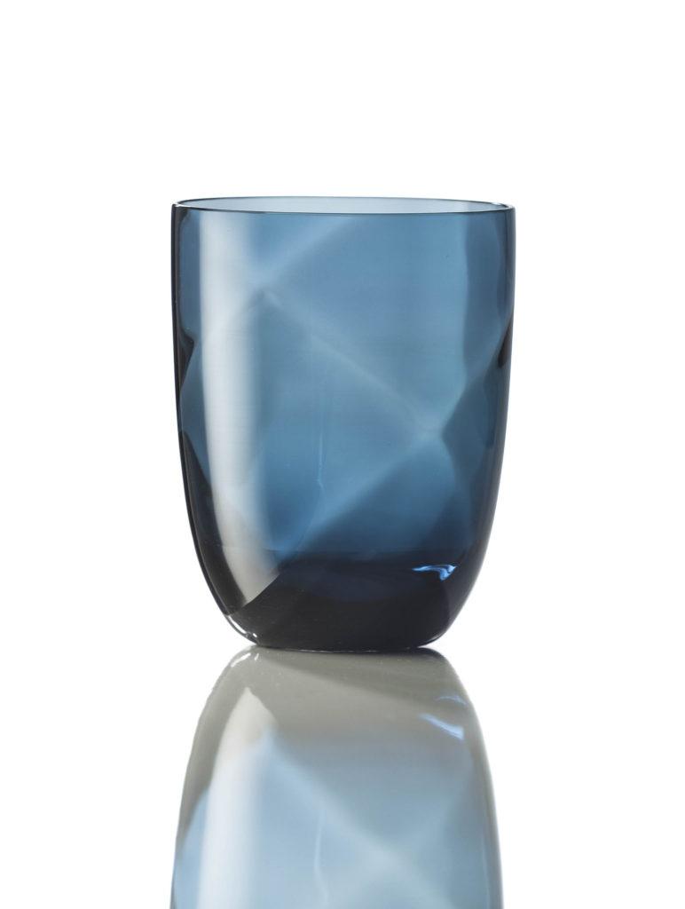 Bicchiere Idra Lente Blu Avio